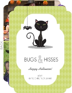 Bugs and Hisses  set  Halloween Card