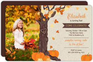 halloween birthday invites