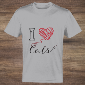 I love cats tshirt