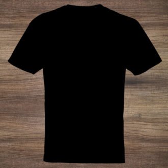 Design Your Own T-Shirt - Black