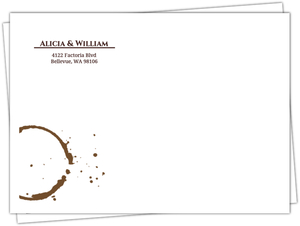 Brown Coffee Perfect Blend Envelope