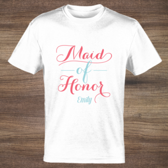Team Bride Maid of Honor T-Shirt