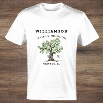 Family Reunion Custom Tshirt