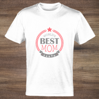 Worlds Best Mom T-shirt