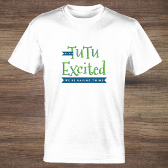 TuTu Excited T-shirt