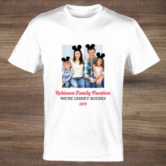 Mickey Mouse Ears Custom Tshirt