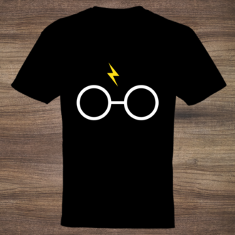 White Glasses Custom Tshirt