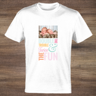 Double The Trouble Twice The Fun T-shirt