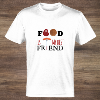Food Is My Best Friend T-shirt