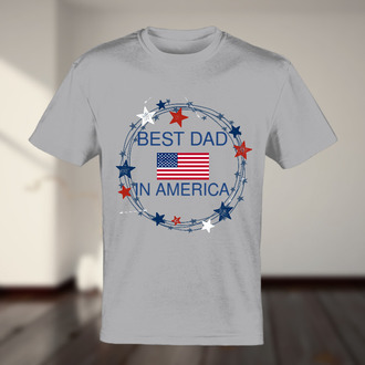 Best Dad In America T-shirt