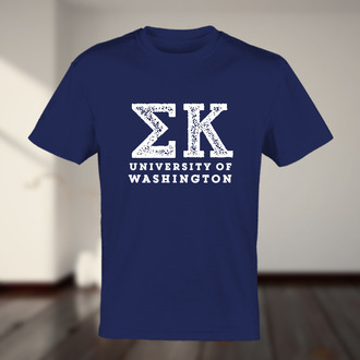 Custom t shirts for Custom greek letter t shirts