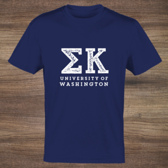 Greek Letters T-shirt