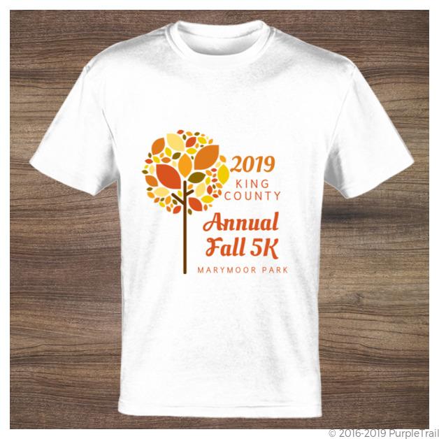 Fall Tree Custom Tshirt