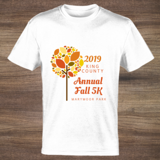 Fall Tree Custom Tshirt