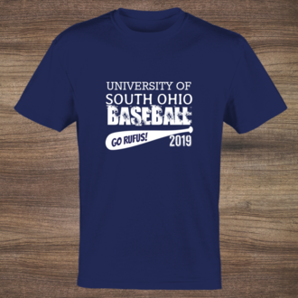 College Name Baseball Year Tshirt