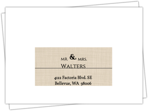 Western Love Gay Wedding Invitation Gay Wedding Invitations