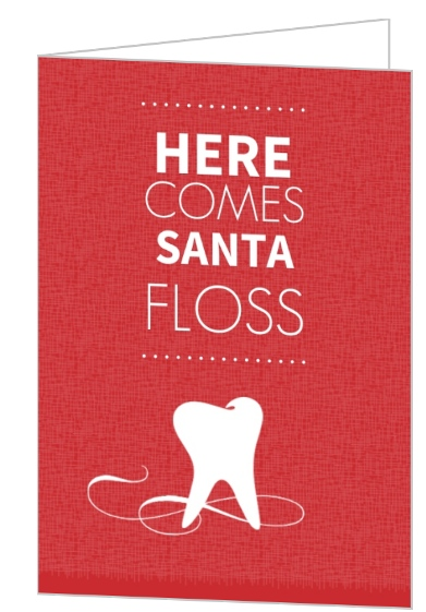 Red dental office holiday greeting card red dental office holiday greeting card m4hsunfo