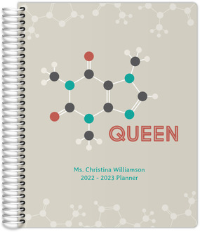 Caffeine Queen Teacher Planner