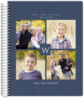 Quad Photo Initial Teacher Planner