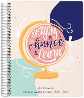 Chance To Learn Globe Teacher Planner