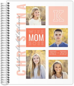 Modern Color Photo Grid Mom Planner
