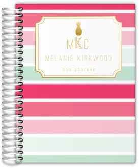 Tropical Sorbet Monogram Mom Planner
