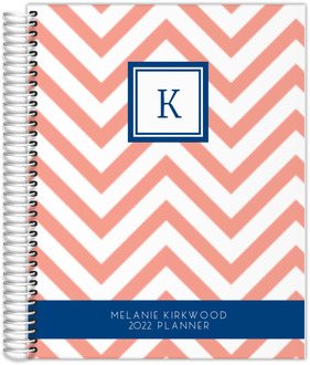 Simply Chevron Custom Family Planner