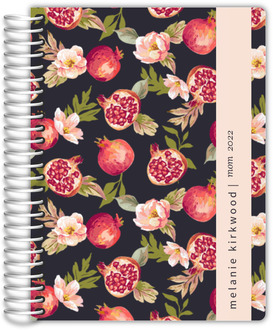Pomegranate and Florals Custom Mom Planner