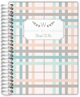 Preppy Plaid Wedding Planner