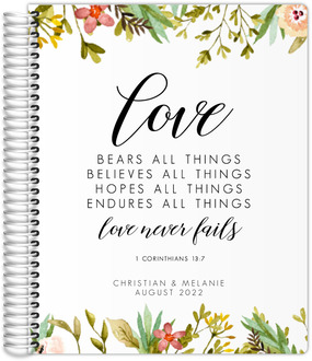 Love Never Fails Wedding Planner