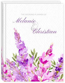 Watercolor Lilac Wedding Planner
