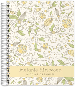 Whimsical Yellow Floral Wedding Planner