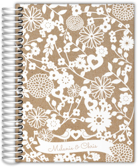 Floral Cutout Wedding Planner
