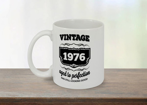 Aged To Perfection Vintage Custom Mug