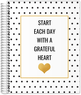 Start Each Day With A Greatful Heart Custom Teacher Planner