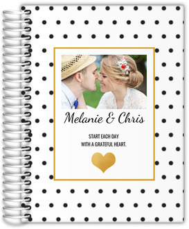 Start Each Day With A Greatful Heart Custom Wedding Planner