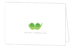 Peas In A Pod Fathers Day Card