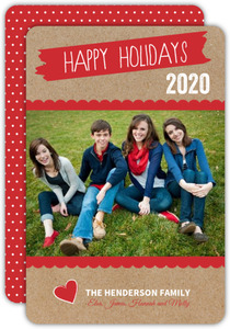 Scrapbook Moments Christmas Photo Card