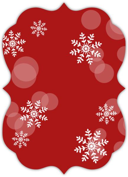 Joyful Bubbles Christmas Photo Card