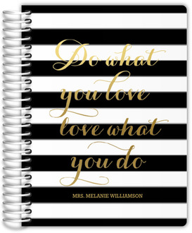 Do What You Love Teacher Planner