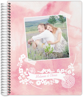 Watercolor Snapshot Wedding Planner