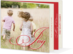 Joyful Memories  Christmas Photo Card