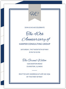 Classic Frame Corporate Event Invitation