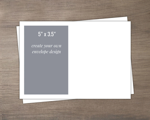 5x3.5 Create Your Own Envelope