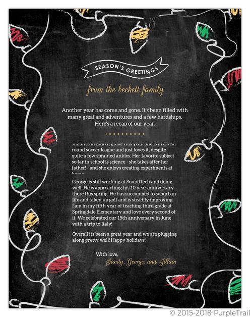 Christmas Letter Ideas.Christmas Letter Ideas Inspiration From Purpletrail