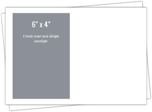 6x4 Envelope - Design Your Own