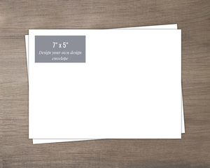 7x5 Create Your Own Envelope