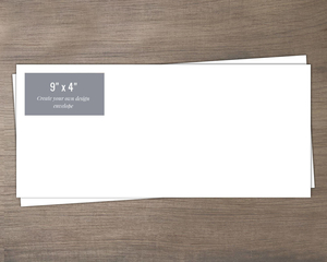 9x4 Create Your Own Envelope