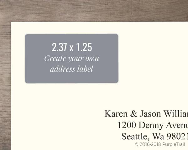 address label design your own address labels