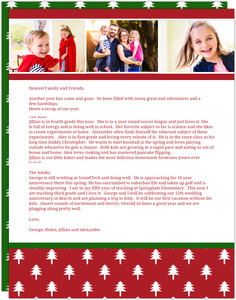 Love and Joy  Holiday Letter